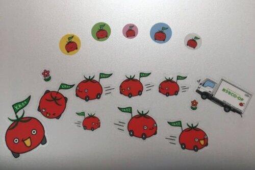 おうちコープのとれたてトマト